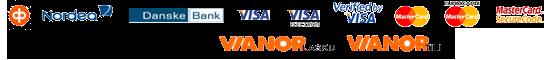 Laskulla by Juno, OP, Nordea, Danske Bank, Visa, Visa Electron, Visa, MasterCard