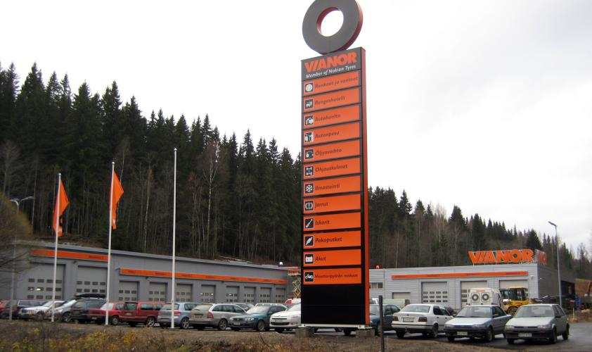 Vianor Kuopio, Kallantie