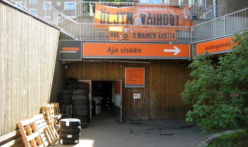 Vianor Helsinki, Kallio
