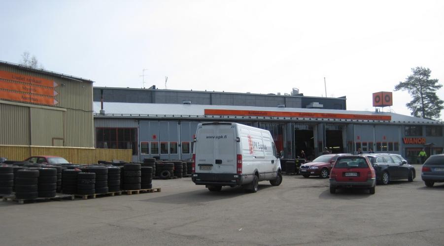 Vianor Vantaa, Airport
