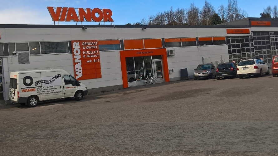 Vianor Turku, Satakunnantie
