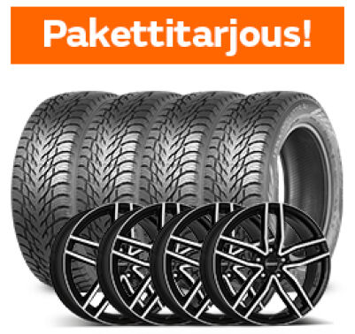 Nokian Hakkapeliitta R3 & Dezent TR Dark