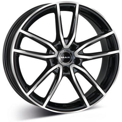 MAK Evo Black Polished alumiinivanne
