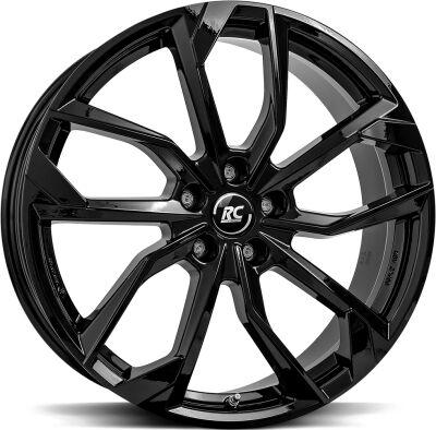 Brock RC34 Shiny Black alumiinivanne