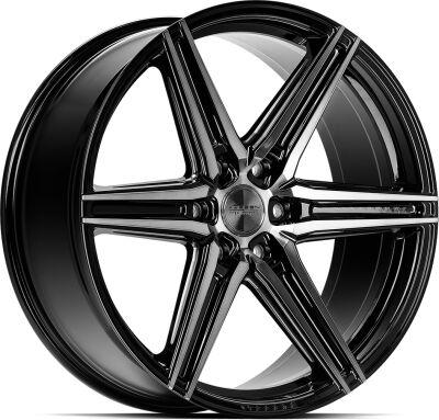 Vossen HF62 Tinted Gloss Black alumiinivanne