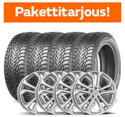 Nokian Hakkapeliitta R3 SUV & Dezent TA Silver