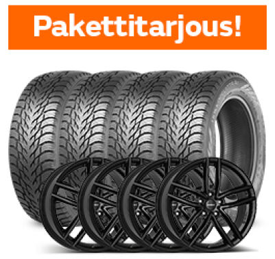 Nokian Hakkapeliitta R3 & Dezent TR Black