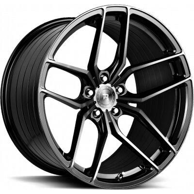 R-Series R8 Gloss Black Tinted Face alumiinivanne