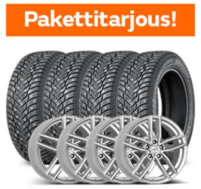 Nokian Hakkapeliitta 10 & Dezent TR Silver