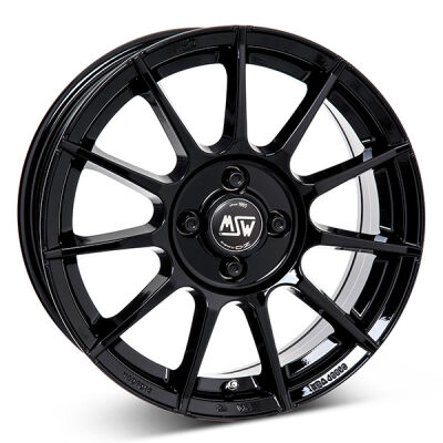 MSW 85 G.Blk alumiinivanne