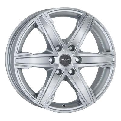 MAK King6 Silver alumiinivanne