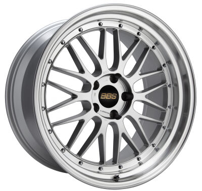 BBS LM Brilliant Silver alumiinivanne