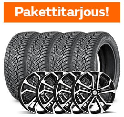 Nokian Hakkapeliitta 10 SUV & Dezent TA Dark