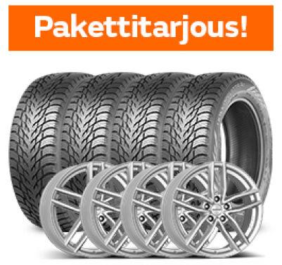 Nokian Hakkapeliitta R3 & Dezent TR Silver