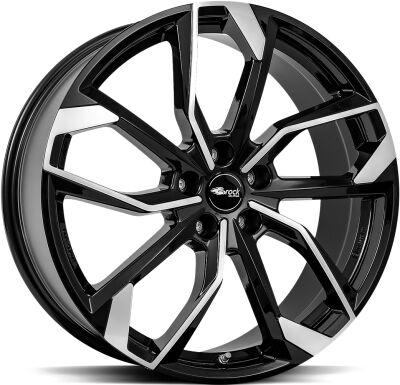 Brock RC34 Black Full Polish alumiinivanne