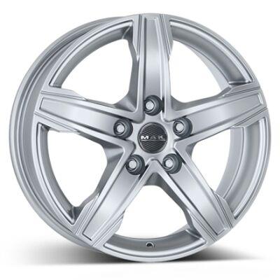 MAK King5 Silver alumiinivanne