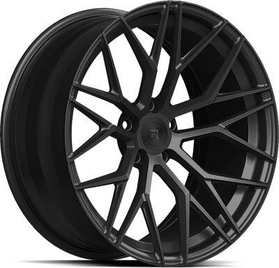 R-Series R9 Satin Black alumiinivanne