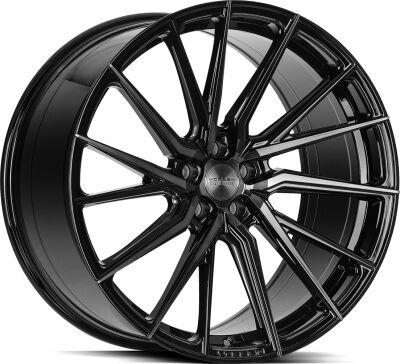 Vossen HF4T Double Tinted Gloss Black alumiinivanne
