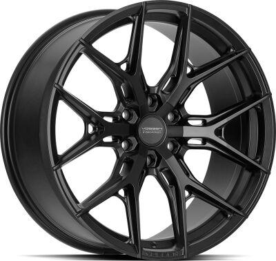 Vossen HF64 Satin Black alumiinivanne