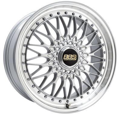 BBS Super RS Brilliant Silver alumiinivanne