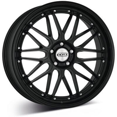 DOTZ Revvo black edt. alumiinivanne