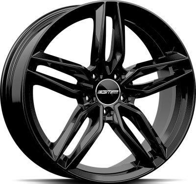 GMP Fasten Glossy Black alumiinivanne