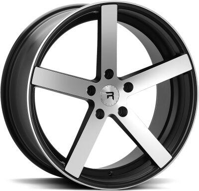 R-Series R1 Black Polish alumiinivanne