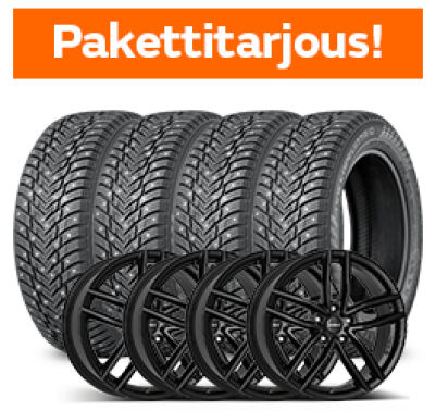 Nokian Hakkapeliitta 10 & Dezent TR Black