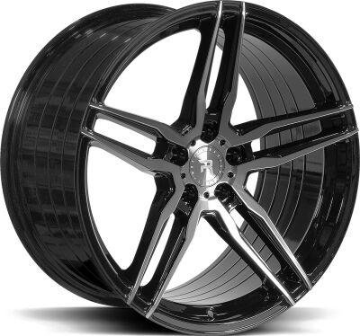 R-Series R10 Tinted Black alumiinivanne