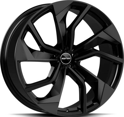 GMP Rebel Glossy Black alumiinivanne