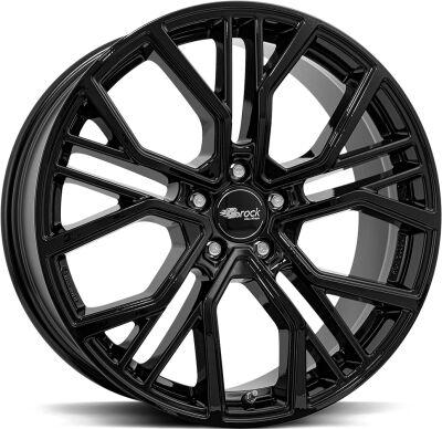 BROCK B41 Shiny Black alumiinivanne