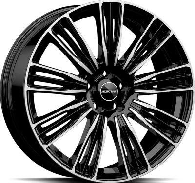 GMP Coventry Black Diamond alumiinivanne