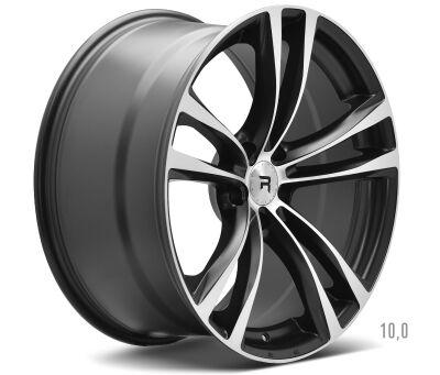 R-Series R3 Black Polish alumiinivanne