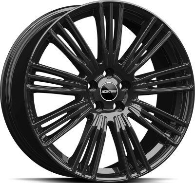 GMP Coventry Glossy Black alumiinivanne