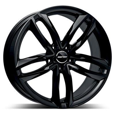 GMP Atom Glossy Black alumiinivanne