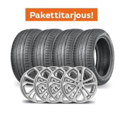 Nokian Hakka Black 2 SUV & Dezent TA Silver