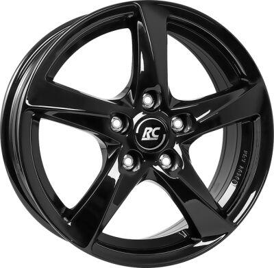 BROCK RC30 Shiny Black alumiinivanne