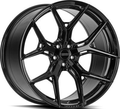 Vossen HF5 Gloss Black alumiinivanne