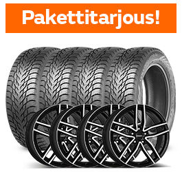 Nokian Hakkapeliitta R3 SUV & Dezent TR Dark