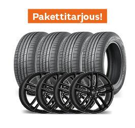 Nokian Hakka Green 3 & Dezent TR Black
