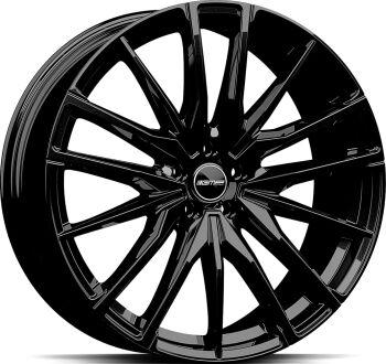 GMP Sparta Glossy Black alumiinivanne