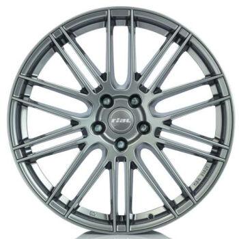 RIAL Kibo Metal Grey alumiinivanne