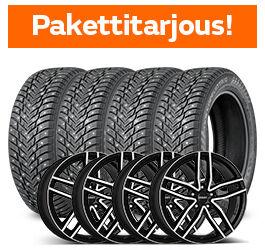 Nokian Hakkapeliitta 10 & Dezent TR Dark