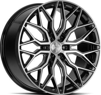 Vossen HF63 Brushed Gloss Black alumiinivanne