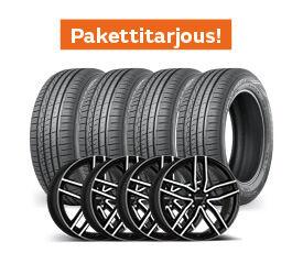 Nokian Hakka Green 3 & Dezent TR Dark