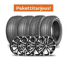 Nokian Hakka Black 2 SUV & Dezent TA Dark