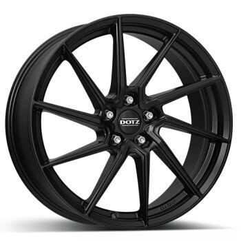 Dotz Spa black alumiinivanne