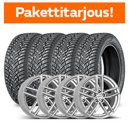 Nokian Hakkapeliitta 10 SUV & Dezent TR Silver