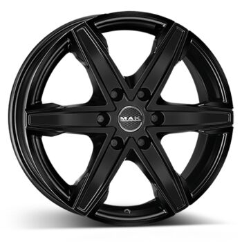 MAK King6 Black alumiinivanne