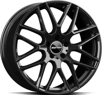 GMP Berghem Glossy Black alumiinivanne